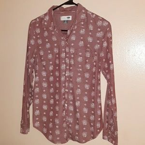 Old navy womens button-down